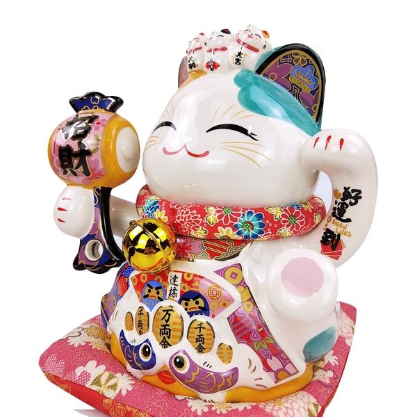 【獨家爆熱款】金石工坊-招財好運到貓撲滿(高25CM) 開運風水擺飾 開店送禮 開業禮品