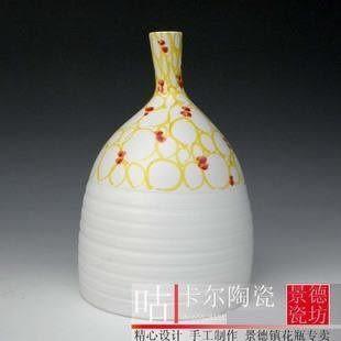 手繪陶藝花瓶