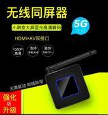 投影器無線HDMI AV同屏器 手機連電視投屏 老電視投影汽車導航高清超穩洛麗的雜貨鋪