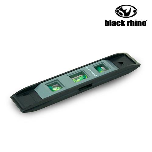 LIKA夢 美國黑犀牛Black Rhino專業手工具 台灣製造 TORPEDO LEVEL 水平儀  #053