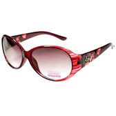 【福利品】雷射雕刻玫瑰花造型太陽眼鏡-(641-紅)