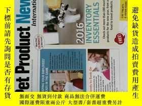 二手書博民逛書店Pet罕見Product News 2016 01 寵物產品設計時尚英文雜誌Y14610
