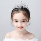 兒童髮箍 兒童皇冠頭飾水晶發箍冰雪奇緣小朋友生日禮物女孩公主可愛學生 韓菲兒