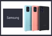 SAMSUNG Galaxy A71 原廠薄型背蓋 (矽膠材質) 台灣公司貨
