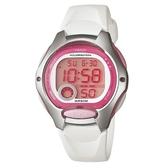 【CASIO】純真時代十年電池電子錶-白(LW-200-7A)