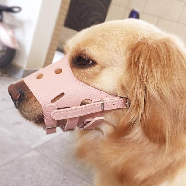 狗狗嘴套口罩防叫防咬防亂吃狗套 全館免運
