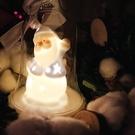 VIA-K Studio LED 聖誕Santa老公公小夜燈 交換禮物 LED小夜燈 檯燈 耶誕裝飾燈 派對佈置 聖誕佈置