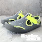 NIKE SUNRAY PROTECT (PS) 灰螢光 涼鞋 中童 (布魯克林) 903631-002