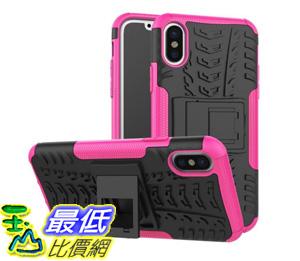 [106美國直購] 手機保護殼 iPhone X Case, High Impact Protection Kickstand Shockproof Clip Holster