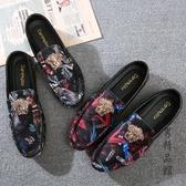 2019新款豆豆鞋男春款韓版潮流男鞋潮鞋社會布鞋快手網紅夏季鞋子 酷男精品館