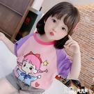 兒童t恤純棉夏天2020新款女童裝短袖體恤小童半袖女寶寶洋氣上衣 Korea時尚記