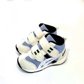 小童 ASICS SUKU 亞瑟士運動鞋 高筒輕量學步機能鞋《7+1童鞋》5114藍色