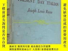 二手書博民逛書店PRESENT罕見DAY ITALIAN 『意大利語學習』 外文