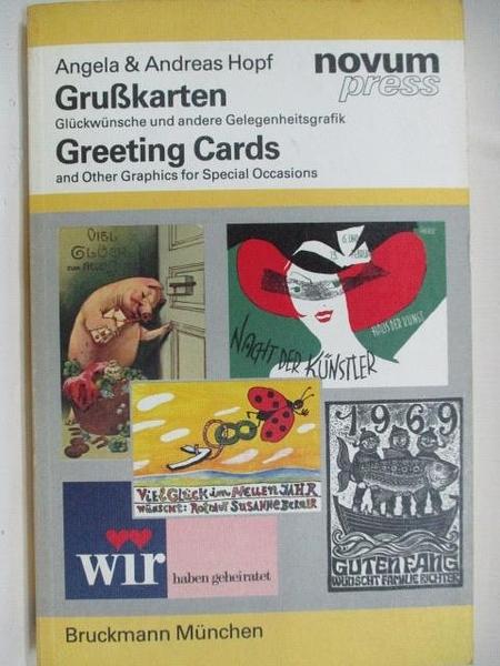 【書寶二手書T9/藝術_DU8】Hopf GruBkarten Greeting Cards_novum press