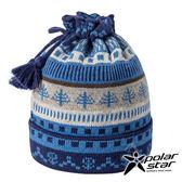 【PolarStar】兩用造型保暖帽/圍脖『藍』P17618 羊毛帽 針織帽 毛帽 毛線帽 帽子 圍脖 圍巾
