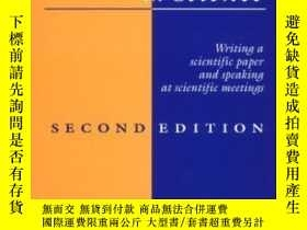 二手書博民逛書店Communicating罕見In Science: Writi