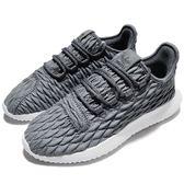 【六折特賣】adidas 休閒鞋 Tubular Shadow W 灰 白 菱格紋路 小350 女鞋 熱銷款【PUMP306】 BB8868