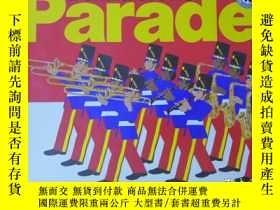 二手書博民逛書店Donald罕見Crews Parade(英文原版·彩色繪本)16開橫翻Y9636 Mulberry Book