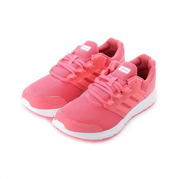 ADIDAS GALAXY 4 W 限定版輕量透氣跑鞋 桃粉 CP8840 女鞋 鞋全家福