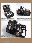 化妝包女大容量多功能便攜ins風超火旅行化妝箱專業化妝師跟妝包 流行花園