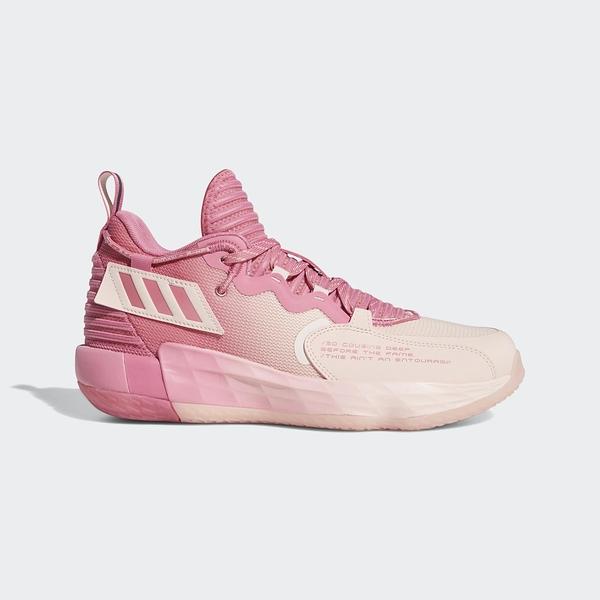 Adidas DAME 7 EXTPLY GCA 男女款 籃球鞋 粉紅款 GV9877 【KAORACER】