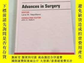 二手書博民逛書店critical罕見care clinics advances in surgery外科危重病診所的進展Y25