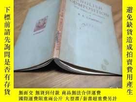 二手書博民逛書店english罕見composition for foreign students【英文版】Y23728
