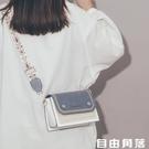 包包女包2020新款潮百搭寬帶斜挎包高級感法國小眾洋氣小巧單肩包 自由角落