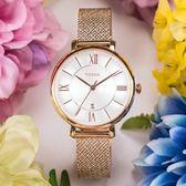FOSSIL JACQUELINE 魅力氣質米蘭玫瑰金腕錶 ES4352 熱賣中!