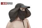 全罩式包覆防風防曬遮陽護頸帽...
