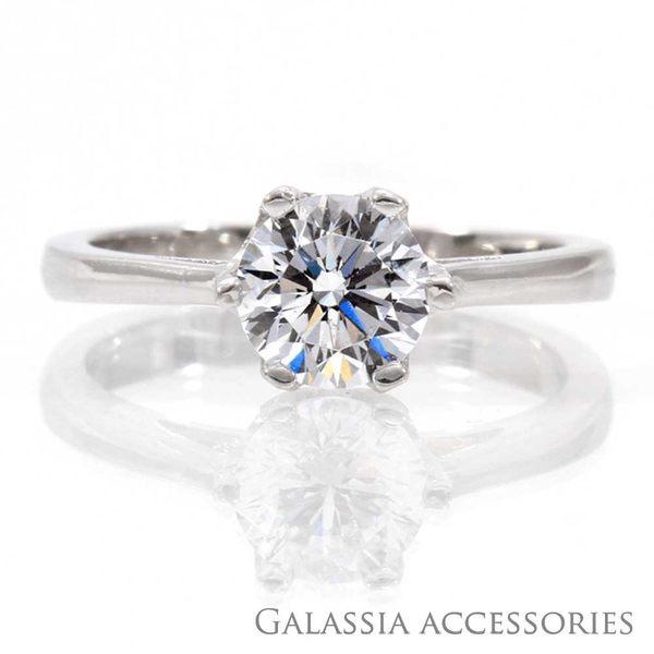 Galassia擬真鑽戒指-第五大道