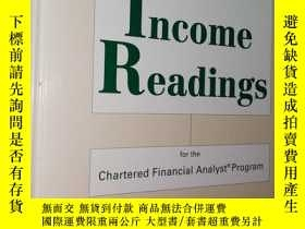 二手書博民逛書店Fixed罕見Income Readings for the C