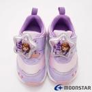 日本月星頂級童鞋 蘇菲亞聯名電燈鞋 ON2499紫(中小童段)