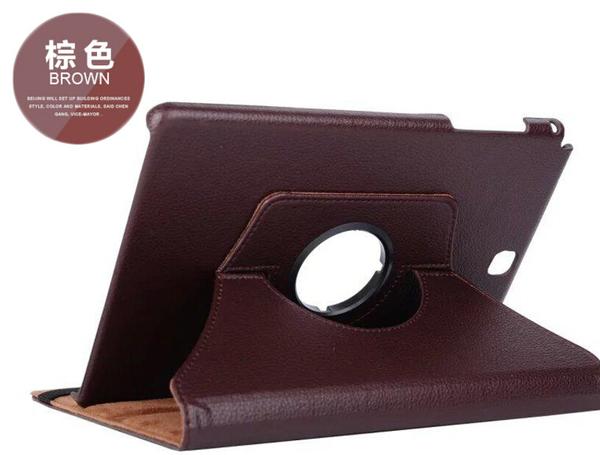 三星 Tab S3 9.7 T820/825 旋轉360度保護套 皮紋側翻皮套 多層支架 鬆緊帶 平板套 保護殼