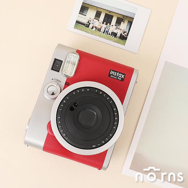 instax mini90富士拍立得相機 紅色- Norns 平輸保固一年 Fujifilm 富士恆昶旗艦機