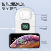 蘋果x無線充電器iwatch2手錶iPhone11pro Max三合一airpods2耳機 LannaS YTL