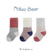 尼多熊寶寶襪冬加厚男女毛圈兒童襪長筒襪秋冬純棉高筒襪嬰兒襪子