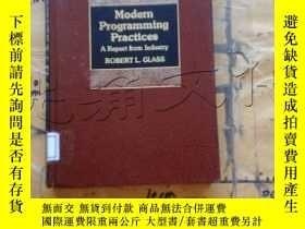 二手書博民逛書店Modern罕見Programming Practices.A