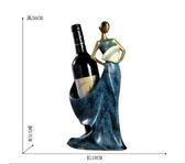 紅酒架擺件酒櫃裝飾品擺件家用歐式創意酒架酒瓶架現代簡約客廳LX爾碩