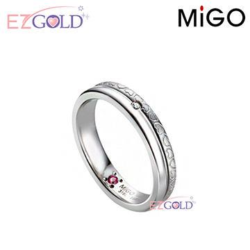 MiGO鋼飾♥回憶♥鋼飾戒指(女)