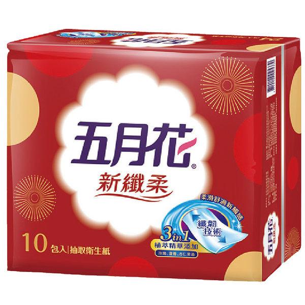 五月花MayFlower新纖柔抽取式衛生紙-節慶版(100抽x10包)/串
