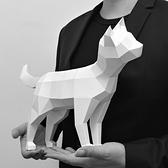 正版匠紙_DIY材料包_手作_3D紙模型_禮物_好奇的貓擺飾