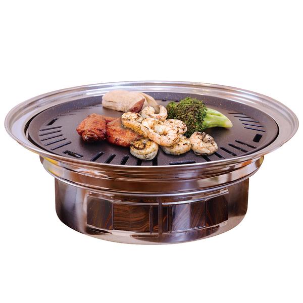 點秋香 明洞不鏽鋼款燒烤爐(BFA9824)