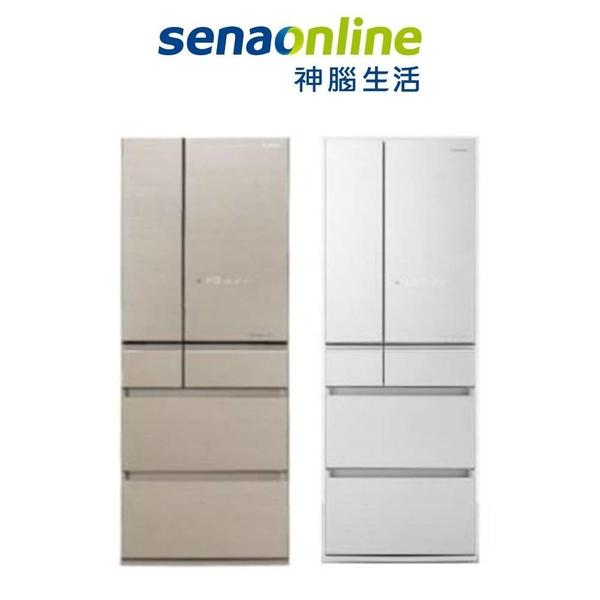 Panasonic 500公升六門變頻日本製玻璃電冰箱(翡翠金/翡翠白) NR-F506HX-N1/W1 神腦生活