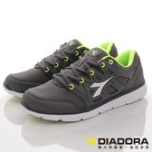 【DIADORA】潮流慢跑鞋-DA7AMR5588-灰-男段-0