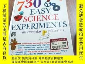 二手書博民逛書店730罕見easy science experiments with everyday materials 730