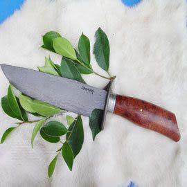 郭常喜與興達刀具--郭常喜限量手工刀品-大獵刀(A0031)