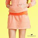 橫條紋天鵝絨短裙 Scottish House【AC2505】