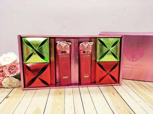 SHISEIDO資生堂禮盒 TSUBAKI系列 思波綺 喝茶禮盒 結婚用品【皇家結婚用品百貨】