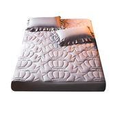 【全館】現折200加厚夾棉床笠單件床罩席夢思床墊保護套床套1.8 m1.5床防塵罩防滑